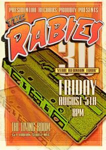 Rabies 30 Reunion poster