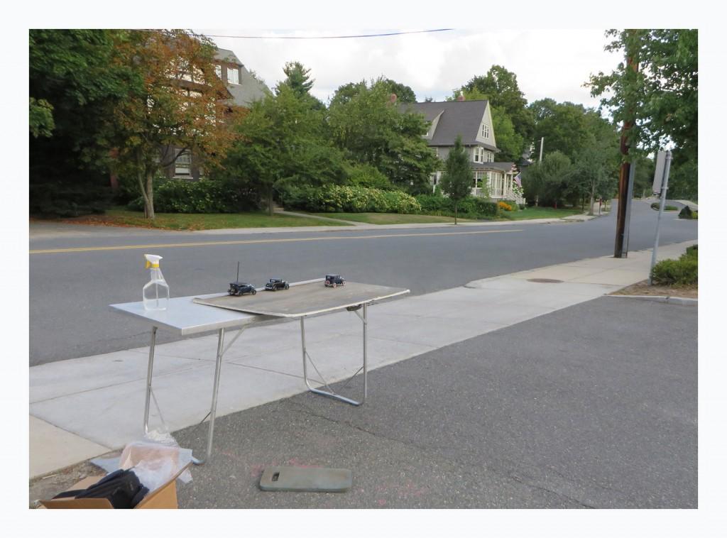 diecast realism,  North Main Street-Set Up Shot   - Michael Paul Smith